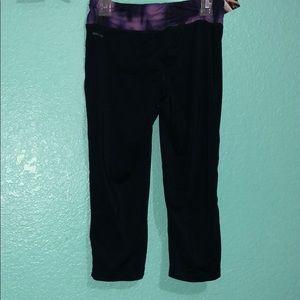 Pants - Black cropped leggings